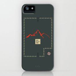 Explore Mountain iPhone Case