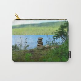 Inukshuk Summer Carry-All Pouch