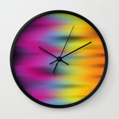 Now That's Abstract! Wall Clock