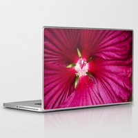 hibiscus Laptop & iPad Skins featuring Hibiscus by Christina Rollo