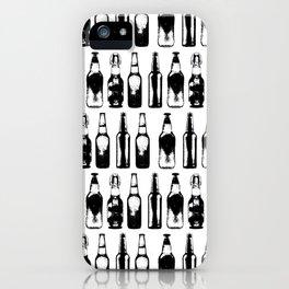 Vintage Beer Bottles iPhone Case