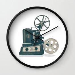 Retro Cinema Projector Wall Clock