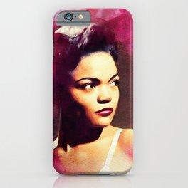 Eartha Kitt, Hollywood Legend iPhone Case