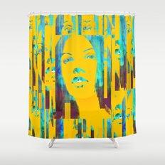 Risetime 1 Shower Curtain