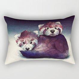 red pandas Rectangular Pillow
