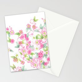 Martha's Flowers Stationery Cards