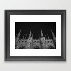 Milan: a city of Paradox  Framed Art Print