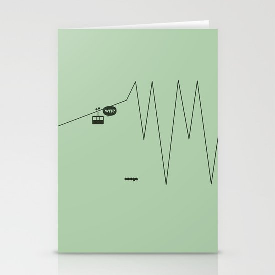 WTF? Riel! Stationery Cards
