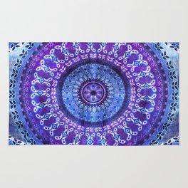Hydrangea Mandala Rug