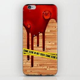 Crime Scene - for iphone iPhone Skin