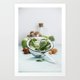 fresh vegetables Art Print