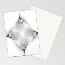 Abstract Vagina 1 Stationery Cards