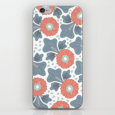 Flowers & Leaves iPhone & iPod Skin