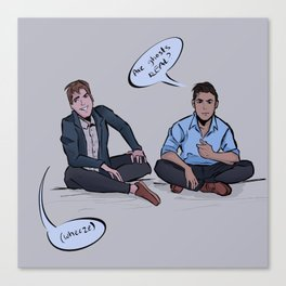 Buzzfeed Unsolved, Are ghosts real? Canvas Print