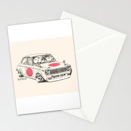Crazy Car Art 0168 Stationery Cards