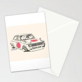 Crazy Car Art 0168 Stationery Cards