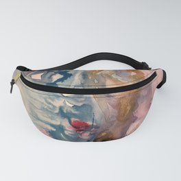 blue and pink dream Fanny Pack