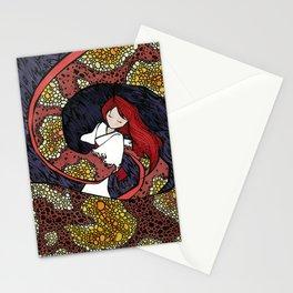 Depression Repression Stationery Cards