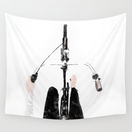 Bike ride Wall Tapestry