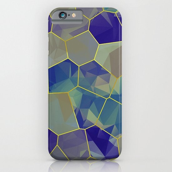 Stained Glass Polygons iPhone & iPod Case