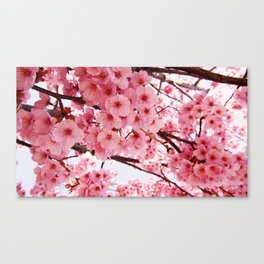 The essence of spring Canvas Print