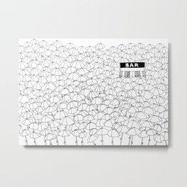 Bar Metal Print