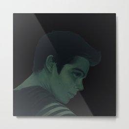 Stiles Stilinski, Color Palette #56 Metal Print