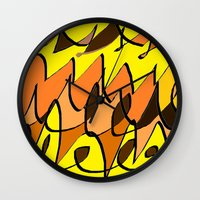charlie brown Wall Clocks featuring CHARLIE BROWN by ....