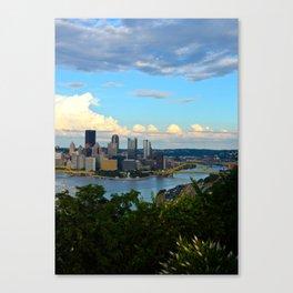 Pittsburgh - 2 Canvas Print