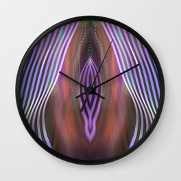 Electric Vagina - MadeByDinh Wall Clock