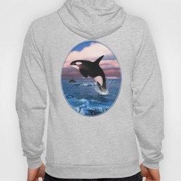 Killer whales in the Arctic Ocean Hoody