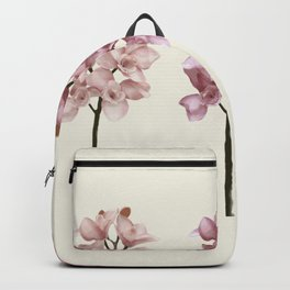 Three tones orchids Backpack