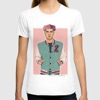zayn T-shirts featuring Zayn varsity by Coconut Wishes