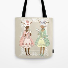 Fawns of the Royal Palace Tote Bag