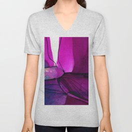 Watercolor Abstraction No.234G by Kathy Morton Stanion Unisex V-Neck