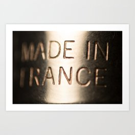 Made in France Art Print