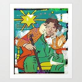 brigid's wilde embrace Art Print