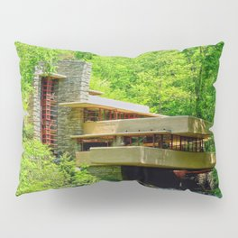 Frank Lloyd Wright   architect   Fallingwater Pillow Sham