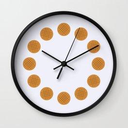 Peanut Butter Cookies Wall Clock