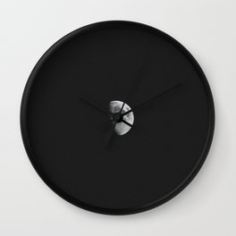 Dark moon Wall Clock
