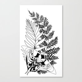 Evolution The Last of Us 2 Tattoo Ellie Canvas Print