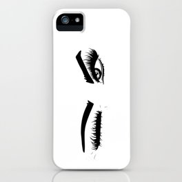 Wink Eyes iPhone Case
