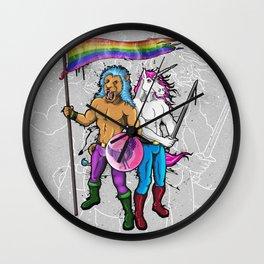 Gay Cliche Wall Clock