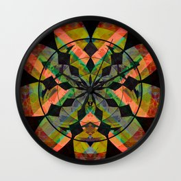 Robust Structure & Resolve Meditation Mandala Wall Clock