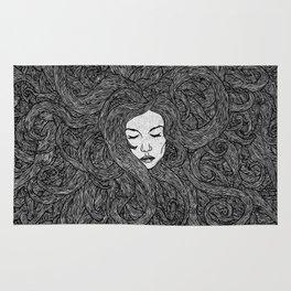 Girl's Hair Rug