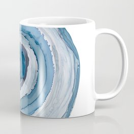 Blue Agate Painting Coffee Mug