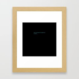 Espanol Wars Framed Art Print