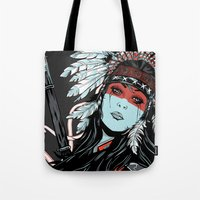 hunter x hunter Tote Bags featuring Hunter by Filipe Survival