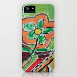 """"""" the flower """" iPhone Case"""