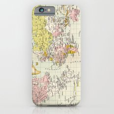 Colonial Possessions of the European Powers at the present time iPhone 6s Slim Case